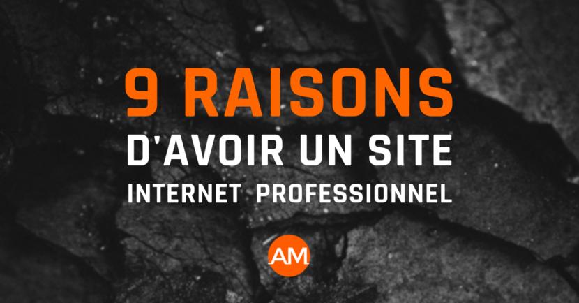 Arnaud Martig | 9 bonnes raisons d'avoir un site internet professionnel en 2018