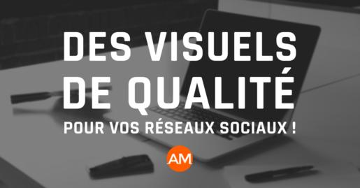 Des visuels de qualité pour vos réseaux sociaux